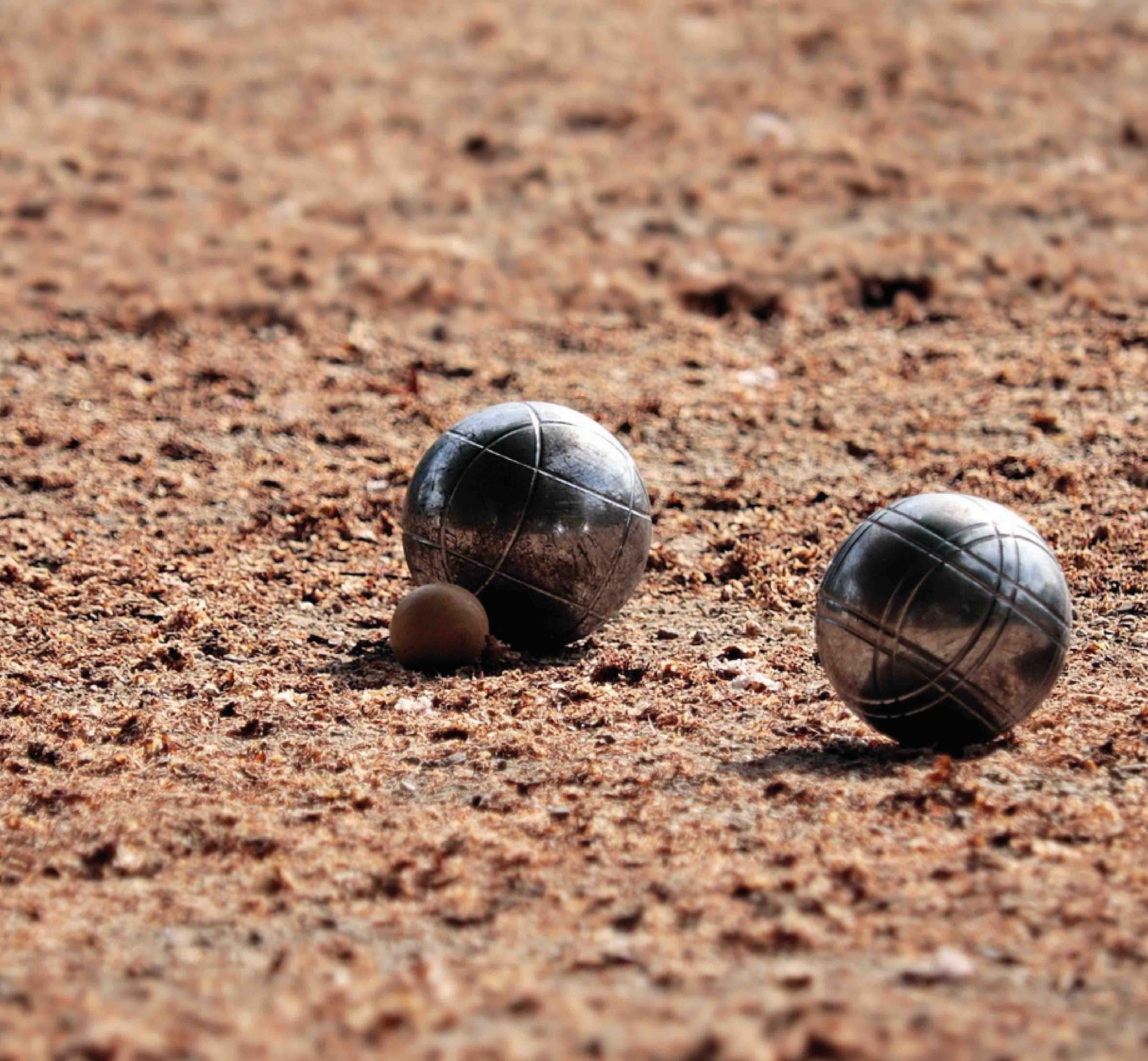 Boule: Boulebahn bauen und spielen