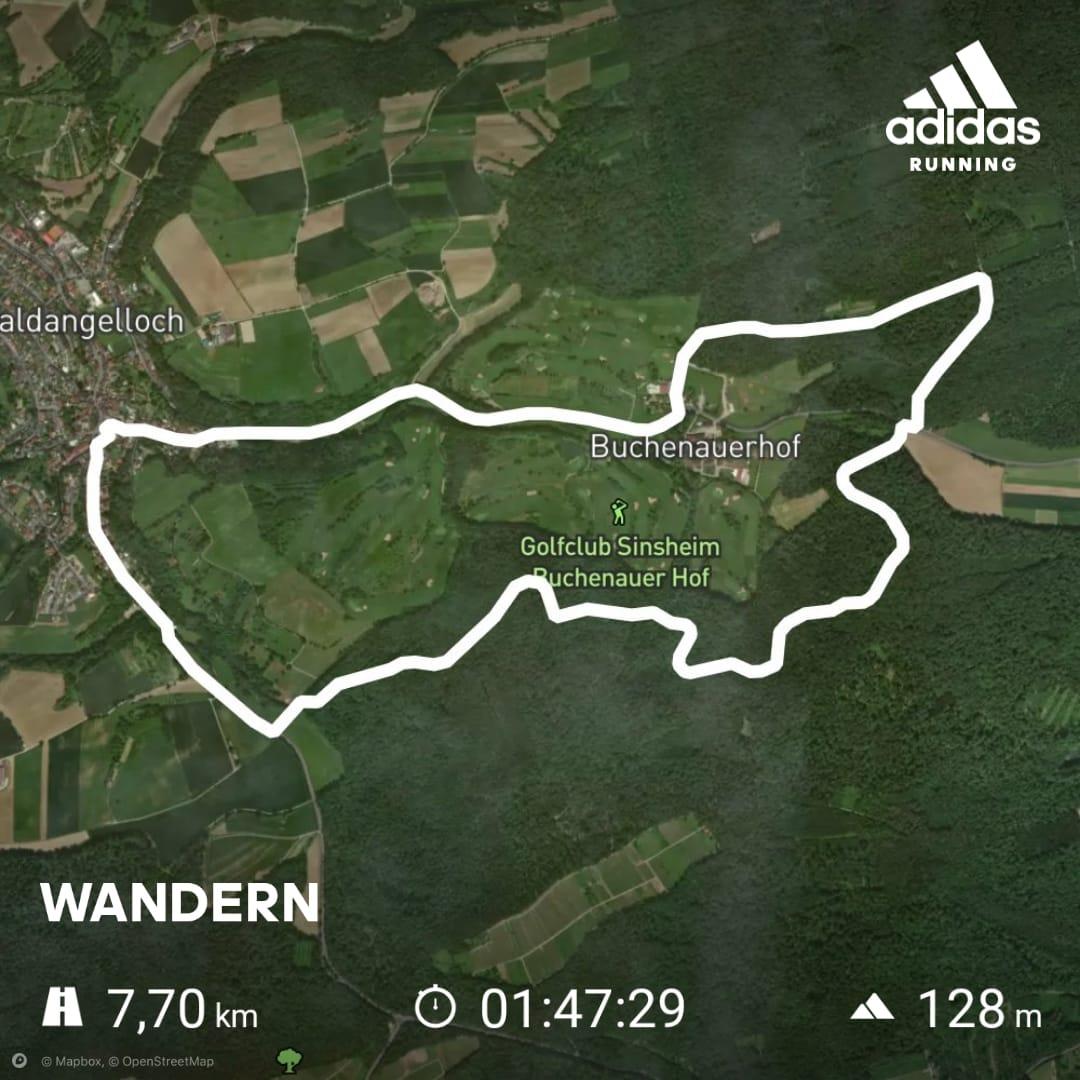 2021-08-10 Waldangelloch Aktiv - Nordic Walking