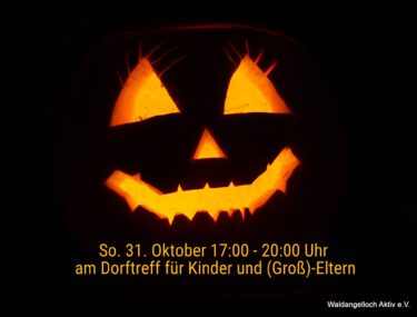 Halloween am Dorftreff